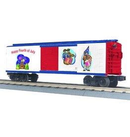 MTH 3074601 - BOX CAR 4th of JULY