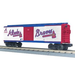 MTH 3074172	 - 	BOX CAR ALANTA BRAVES