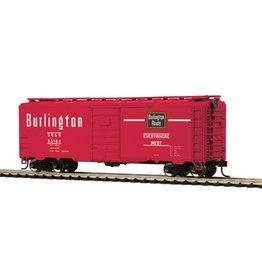 MTH - HO 8574085 - BOX CAR BURLINGTON # 63198 HO