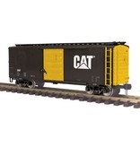 MTH - Premier 2080007F	 - 	BOX CAR CATERPILLAR G Gauge