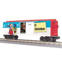 MTH 3079336	 - 	BOX CAR CHRISTMAS W/ SIGNAL MAN