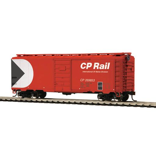 MTH - HO 8574126	 - 	BOX CAR CP RAIL 40' PS 1