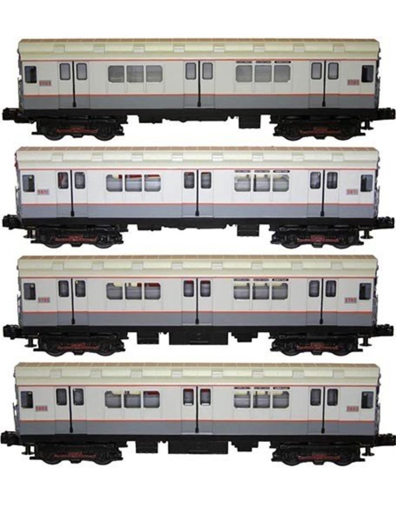 3023731	 - 	R-12 4-Car Subway Set w/Proto-S