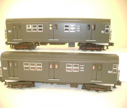 3024461 - R-26 4-Car Subway Set w/Proto-S
