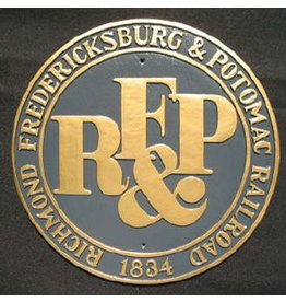 CUSTOM 26270	 - 	R.F.& P RailRoad Emblem Plate - COLOR VARIATIONS