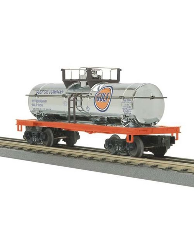 3073258	 - 	TANK CAR GULF (CHROME)