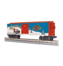 MTH 3074439	 - 	BOX CAR HARLEY CHRISTMAS 2007
