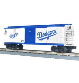 MTH - RailKing 3074178 - BOX CAR LOS ANGELES DODGERS