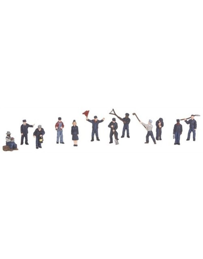3011055	 - 	RAILROAD EMPLOYEES 12 PCS
