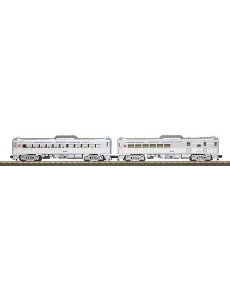 30203041	 - 	RDC BUDD CAR PRR READIN SET 3.0