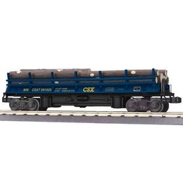 MTH - RailKing 3079357 - DUMP LOG CAR CSX