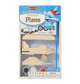 Melissa & Doug 2067	 - 	M&D WOODEN DYO PAINT - AIRPLANE