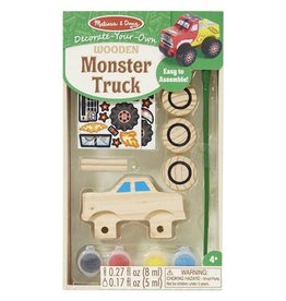 Melissa & Doug 2068	 - 	M&D WOODEN DYO PAINT - MONSTER TRUCK