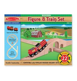 Melissa & Doug 2074	 - 	M&D FIGURE 8 TRAIN SET