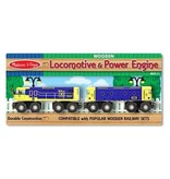 Melissa & Doug 2057	 - 	M&D LOCOMOTIVE & POWER ENGINE SET