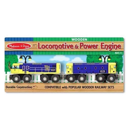Melissa & Doug 2057 - M&D LOCOMOTIVE & POWER ENGINE SET
