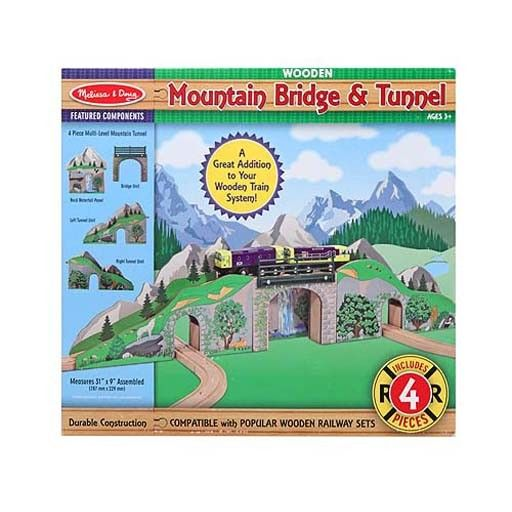 Melissa & Doug 2119	 - 	M&D MOUNTAIN BRIDGE & TUNNEL