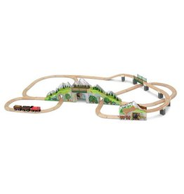 Melissa & Doug 2116	 - 	M&D MOUNTAIN TUNNEL TRAIN SET
