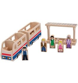 Melissa & Doug 2043	 - 	M&D PASSENGER TRAIN