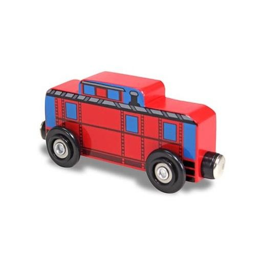 Melissa & Doug 2124	 - 	M&D RED CABOOSE