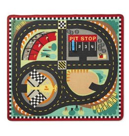Melissa & Doug 2062	 - 	M&D ROUND THE SPEEDWAY RACE TRACK RUG & CAR SET