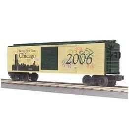 MTH - RailKing 3074258 - BOX CAR NEW YEAR'S 2006