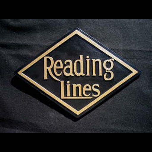 CUSTOM 26243 - READING DIAMOND Builders Plaque Railroad Emblem - COLOR VARIATIONS