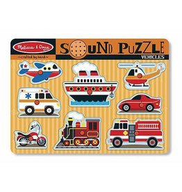Melissa & Doug M&D Vehicles Sound Puzzle