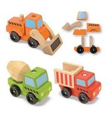Melissa & Doug 2072	 - 	M&D STACKING CONSTRUCTION VEHICLES
