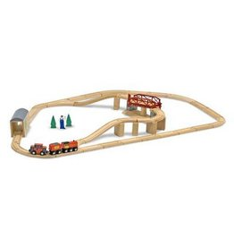 Melissa & Doug 2120	 - 	M&D SWIVEL BRIDGE TRAIN SET