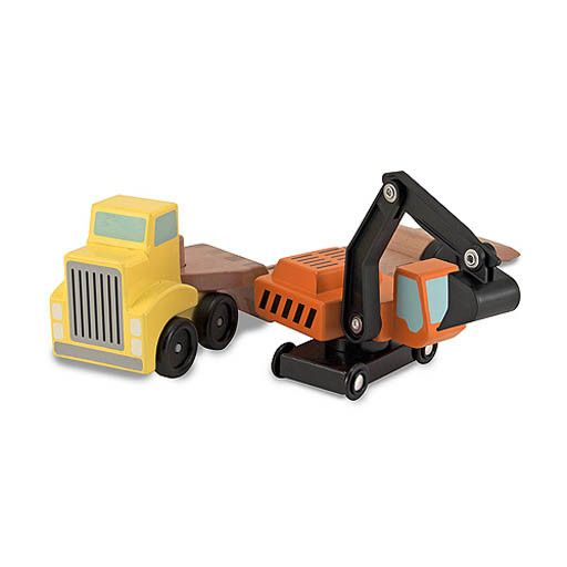 Melissa & Doug 2133	 - 	M&D TRAILER & EXCAVATOR