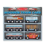 Melissa & Doug 2060	 - 	M&D TRAIN CARS