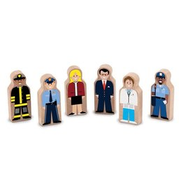 Melissa & Doug 2129	 - 	M&D WOODEN PEOPLE AT WORK SET