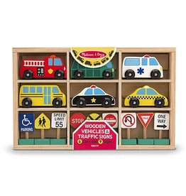 Melissa & Doug 2127	 - 	M&D WOODEN V&T SIGNS