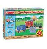 Melissa & Doug 2045 - M&D ZOO ANIMAL TRAIN SET