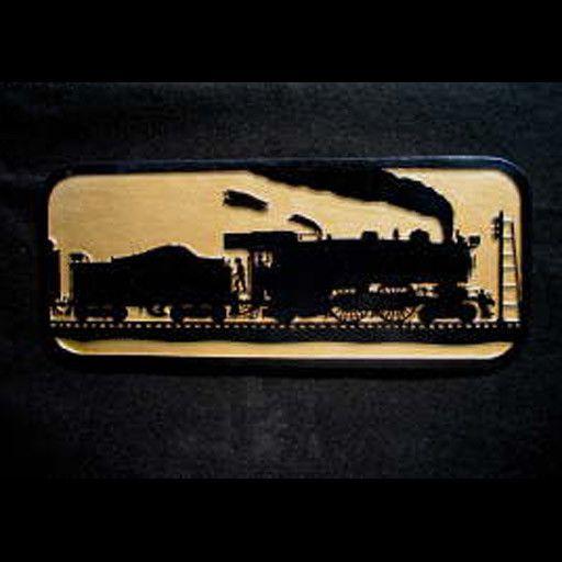 CUSTOM 26210 - The Old Timer - Steam Locomotive Silhouette