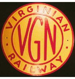 CUSTOM 26229 - THE VIRGINIAN Railroad Builder Plate - COLOR VARIATIONS