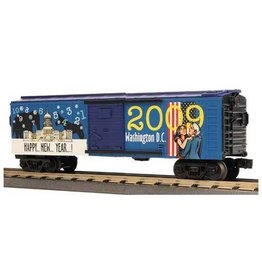 MTH - RailKing 3074499 - BOX CAR NEW YEARS 2009