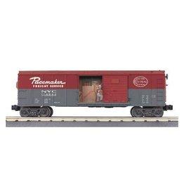 MTH - RailKing 3079016 - BOX CAR NYC W/SIGNAL MAN