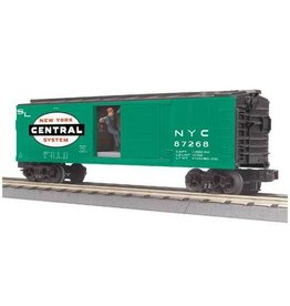 MTH - RailKing 3079378	 - 	BOX CAR NYC W/SIGNAL MAN