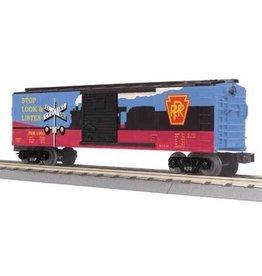 MTH - RailKing 3074828 - Box Car w/Blinking LEDs - Pennsylvania