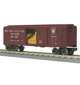 MTH - RailKing 3074155 - BOX CAR PRR W/GENERATOR