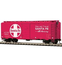 MTH - HO 74107	 - 	BOX CAR SANTA Fe 40' PS-1 - HO