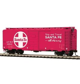MTH - HO 74108	 - 	BOX CAR SANTA Fe 40' PS-1 HO-1