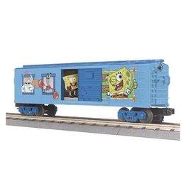MTH - RailKing 3079068 - BOX CAR SPONG BOB W/SIGNAL