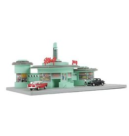 MTH - RailKing 30-9188	 - 	MEL'S DRIVE IN DINER