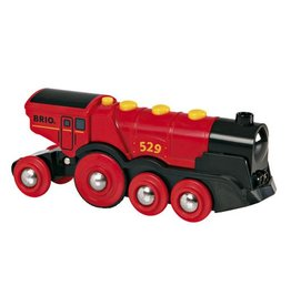 BRIO 2076	 - 	Brio - MIGHTY RED LOCOMOTIVE