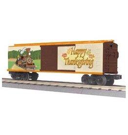 MTH - RailKing 3074533 - BOX CAR THANKSGIVING - HOLIDAY