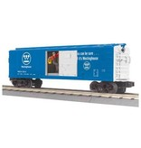 MTH - RailKing 3079337	 - 	BOX CAR WESTINGHOUSE W/SIGNAL