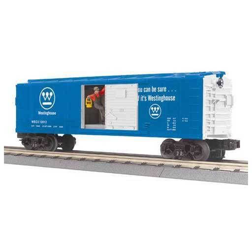 MTH - RailKing 3079337 - BOX CAR WESTINGHOUSE W/SIGNAL